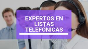 Expertos en Listas Telefónicas